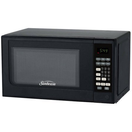 Sunbeam 0 7 Cu Ft Digital Microwave Output Power 700w